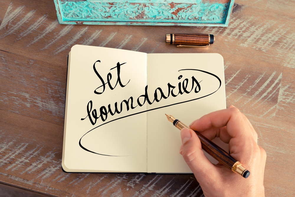 10 ways to set no-BS boundaries for better self-care.