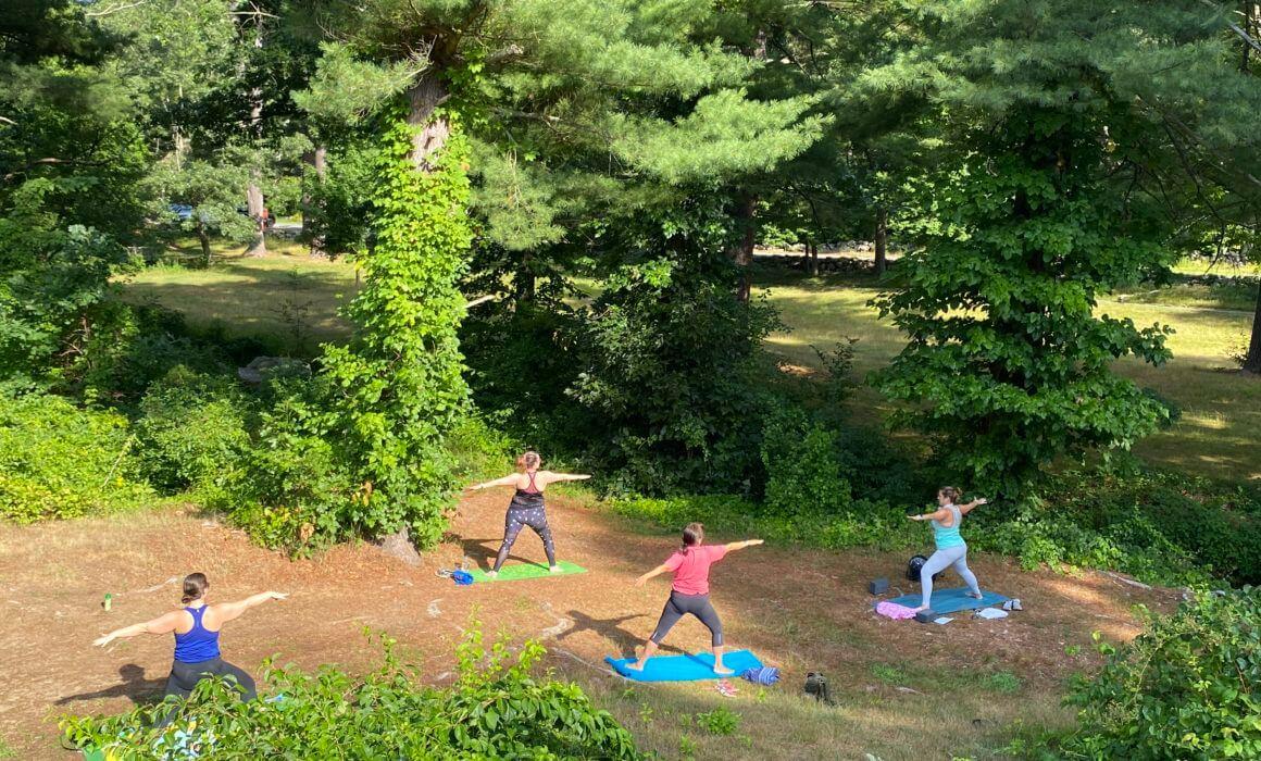 Reiki Love Yoga Outdoors