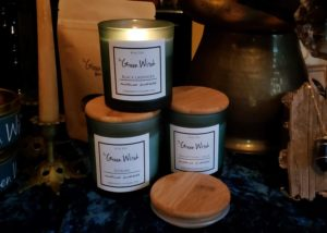 Green Witch Candles