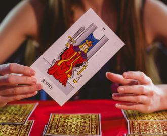 The Justice Tarot Card.