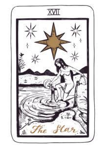 The Star Tarot Card.