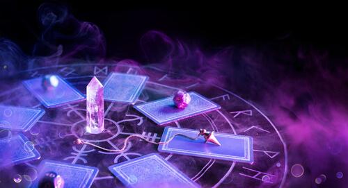online group tarot event