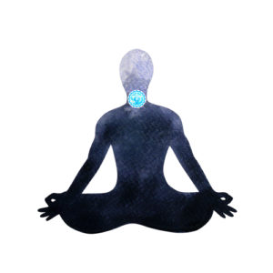 associated with the throat chakra, base, and sacral chakra.