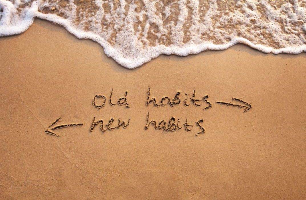 old habits to new habits